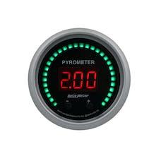 "AutoMeter Products 6744-SC Gauge, Pyrometer, 2 1/16"", Two Channel, Selectable, Sport-Comp Elite Digital"