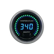 AutoMeter Products 6754-CB Gauge, Fluid Temperature, Two Channel, Selectable, Cobalt Elite Digital