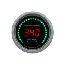 "AutoMeter Products 6754-SC Gauge, Fluid Temperature, 2 1/16"", 2 Chan, Selectable, Sport-Comp Elite Digital"