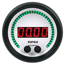 "AutoMeter Products 6798-PH Gauge, Tachometer, 3 3/8"", 10K Rpm, In-Dash, Phantom Elite Digital"