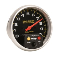 AutoMeter Products 6801 Tach W/Memory  10 000 RPM