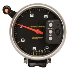 AutoMeter Products 6852 Tach Dual Range W/Memory  9 000 RPM
