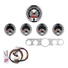 AutoMeter Products 7035-AM 5 Gauge Direct-Fit Dash Kit, American Muscle