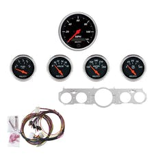 AutoMeter Products 7035-DB 5 Gauge Direct-Fit Dash Kit, Designer Black