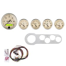 AutoMeter Products 7042-AB 5 Gauge Direct-Fit Dash Kit, Antique Beige