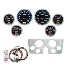 AutoMeter Products 7045-CB Gauge Kit, 6pc, Cobalt