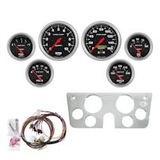 AutoMeter Products 7045-SC Gauge Kit, 6pc, Sport Comp