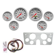 AutoMeter Products 7045-UL Gauge Kit, 6pc, Ultra-Lite