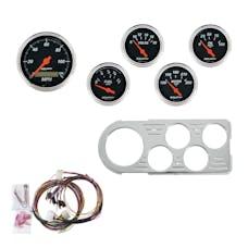 AutoMeter Products 7046-DB 5 Gauge Direct-Fit Dash Kit, Designer Black