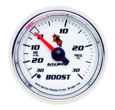 AutoMeter Products 7103 Boost/Vac  30in. Hg/30 PSI