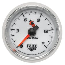 AutoMeter Products 7162 Gauge; Fuel Pressure; 2 1/16in.; 15psi; Digital Stepper Motor; C2