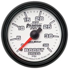 AutoMeter Products 7504 Boost 0-35 PSI Full Sweep