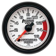 AutoMeter Products 7574 Nitrous Pressure 0-1600 PSI  (FS)