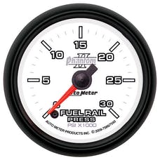 "AutoMeter Products 7593 2-1/16"" Fuel Pressure Gauge  Phantom II  0 to 30,000 psi"