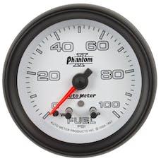 AutoMeter Products 7863 Gauge; Fuel Press; 2 1/16in.; 100psi; Stepper Motor w/Peak/Warn; Phantom II