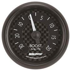 "AutoMeter Products 8001 2-1/16"" Vac/Boost 30/20psi FSM, GT Series"