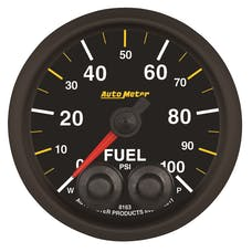 """AutoMeter Products 8163-05702 2-1/16"""" Fuel Pressure Gauge, 0- 100 PSI, NASCAR CAN"""