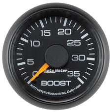 """AutoMeter Products 8304 2-1/16"""" Boost, 0-35 PSI, GM Factory Match"""