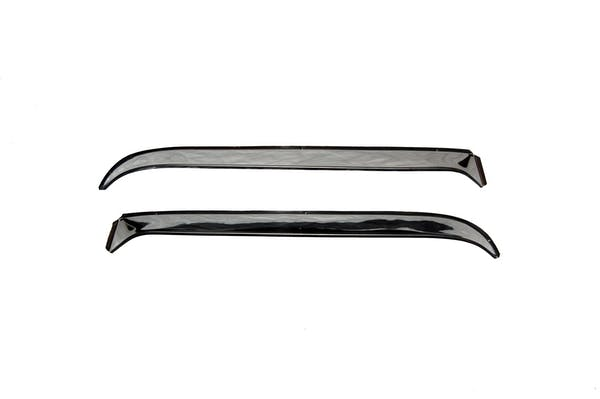 AVS 12050 Ventshade Deflector - 2 Pc Set Stainless