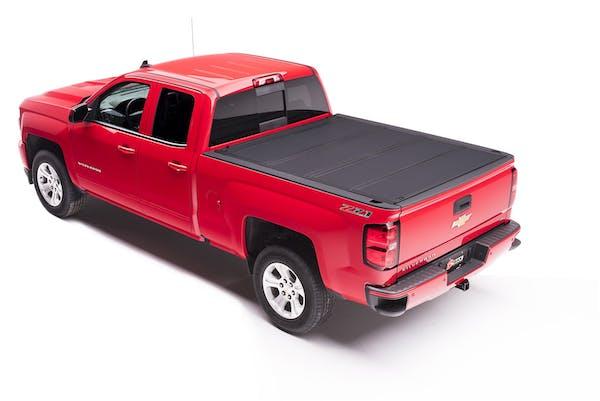BAK Industries 448130 BAKFlip MX4 Hard Folding Truck Bed Cover, Matte Finish
