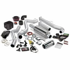 Banks Power 46000 Stinger Bundle, Power System with Single Exit Exhaust, Chrome Tip