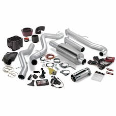 Banks Power 46016 Six-Gun Bundle, Power System with Single Exit Exhaust, Chrome Tip