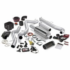 Banks Power 46020-B Six-Gun Bundle, Power System with Single Exit Exhaust, Black Tip
