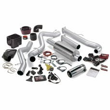 Banks Power 46020 Six-Gun Bundle, Power System with Single Exit Exhaust, Chrome Tip