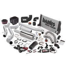 Banks Power 46021-B Big Hoss Bundle, Complete Power System with Single Exhaust, Black Tip