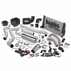 Banks Power 46021 Big Hoss Bundle, Complete Power System with Single Exhaust, Chrome Tip