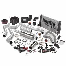 Banks Power 46024 Big Hoss Bundle, Complete Power System with Single Exhaust, Chrome Tip