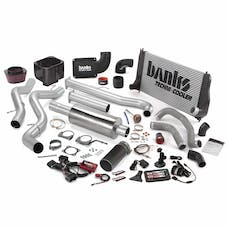 Banks Power 46028-B Big Hoss Bundle, Complete Power System with Single Exhaust, Black Tip