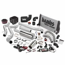 Banks Power 46029 Big Hoss Bundle, Complete Power System with Single Exhaust, Chrome Tip