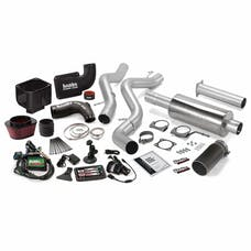 Banks Power 46032-B Stinger Bundle, Power System with Single Exit Exhaust, Black Tip