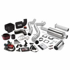 Banks Power 46036 Six-Gun Bundle, Power System with Single Exit Exhaust, Chrome Tip