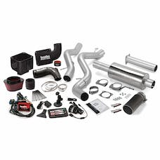 Banks Power 46038-B Six-Gun Bundle, Power System with Single Exit Exhaust, Black Tip