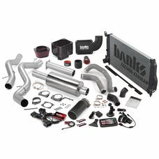 Banks Power 46039-B Big Hoss Bundle, Complete Power System with Single Exhaust, Black Tip