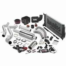 Banks Power 46040 Big Hoss Bundle, Complete Power System with Single Exhaust, Chrome Tip