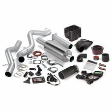 Banks Power 46045-B Stinger Bundle, Power System with Single Exit Exhaust, Black Tip