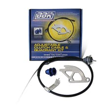 BBK Performance Parts 15055 Clutch Quadrant And Cable Kit