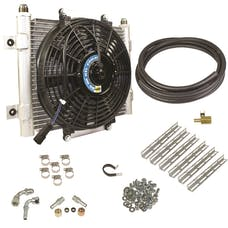 BD Diesel Performance 1030606-1/2 Xtruded Trans Oil Cooler-1/2 inch Cooler Lines