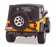 Bestop 44931-01 HighRock 4x4 Rear Bumper with Integrated Tire Carrier