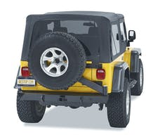 Bestop 44931-01 HighRock 4x4 Rear Bumper with Integrated Tire Carrier