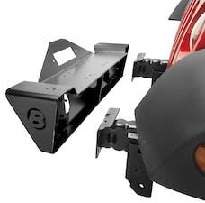 Bestop 44933-01 HighRock 4x4 Front Bumper, Narrow-profile