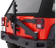 Bestop 44943-01 Tire Carrier Assembly for Rear Modular Bumper