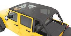 Bestop 52594-11 Header Extended Safari Cable Style Bikini Top
