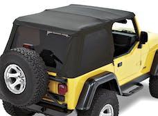 Bestop 59720-17 Replace-a-Top for Trektop NX Black Twill