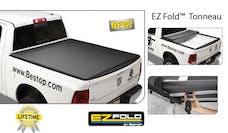 Bestop 16147-01 EZ-Fold Soft Tri-Fold Tonneau Cover