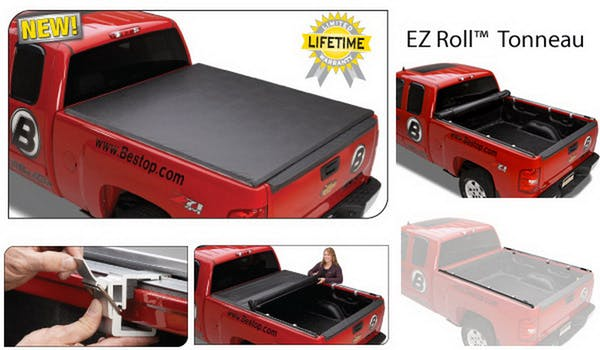 Bestop 19204-01 EZ-Roll Soft Tonneau Cover