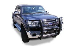 Big Country Truck Accessories 503371 BIG COUNTRY Euroguard. Grill/brush guard. Brackets included. Black powder coat